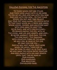 blessing for the ancestors this is a pagan prayer for our beloved