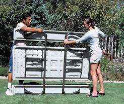 lifetime fold away picnic table 109 best lifetime plastic resin picnic tables images on pinterest