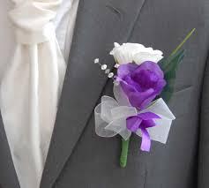 wedding flowers buttonholes purple wedding flowers buttonholes large grooms buttonhole with