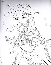 frozen fever coloring pages print