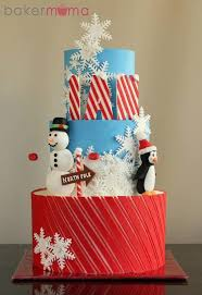 238 best cakes christmas winter images on pinterest xmas