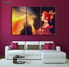 aliexpress com buy new 3 piece canvas art ursa dota poster