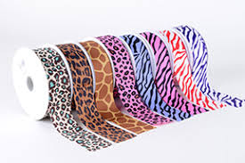 printed ribbon imaginative animal printed ribbons enhance up your gift or occasions