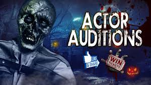 halloween horror nights auditions actor auditions haunted elementary