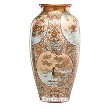 Chinese Antique Vases Markings Antique Kutani Pottery U0026 Porcelain Price Guide Antiques