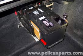 bmw z4 m battery replacement and connection notes 2003 2006