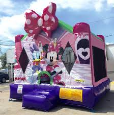 bounce house rental miami minnie mouse bounce house rentals miami broward and palm fl