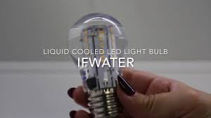 Infinity Led Light Bulbs by Liquid In A Bulb Youtube