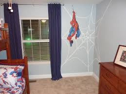 Diy Superhero Room Decor Spiderman Bedrooms 15 Kids Bedroom Design With Spiderman Themes