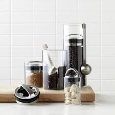 glass canisters kitchen williams sonoma glass canister williams sonoma