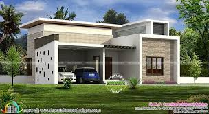 Single floor home with 2 car porch Kerala home design