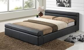 Faux Leather Bed Frames Faux Leather Bed Frame Faux Leather Bed Frame Black