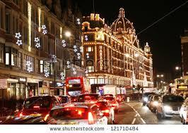 london dec 8 night view harrods stock photo 121710484 shutterstock