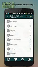 biology dictionary apk biology dictionary for android free at apk here store