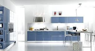 cuisine bleue et blanche tonnant facade cuisine bleu ensemble chemin e fresh on bleue et