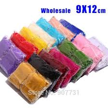 wholesale organza bags wholesale 800pcs lot organza bags 9x12cm wedding jewelry packaging