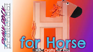 letter h for horse fun preschool crafts for kids best