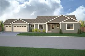 What Is A Rambler Style Home Branford Park Home Plan True Built Home Pacific Northwest