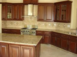 Walnut Kitchen Cabinets Granite Countertops  Kitchen Cabinet - Single kitchen cabinet