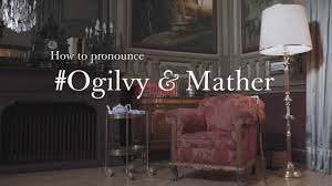 ogilvy and mather how to pronounce ogilvy mather youtube