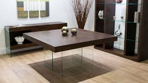 Glass Dining Table And 8 Chairs Home Design 8 Seater Square Dark Wood Dining Table And Chairs