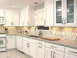 glass front kitchen cabinets lowes door pantry double vanity