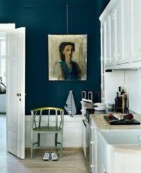Dark Blue Kitchen Best 25 Kitchen Feature Wall Ideas On Pinterest Wall Colours