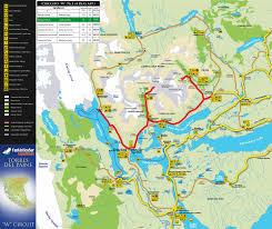 Patagonia Map An Excelent Map Of Torres Del Paine Showing Refugios And The