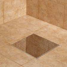 werner square shower drain bathroom 12