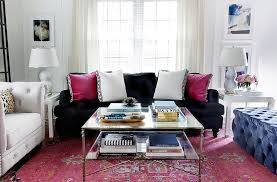 top home design bloggers see how 3 top design bloggers style 1 hot ottoman one kings lane