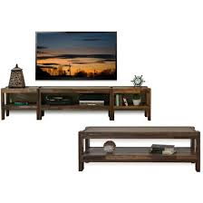 Outdoor Entertainment Center - rustic reclaimed pallet wood style entertainment center tv stand