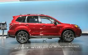 red subaru forester 2014 subaru forester prototype quick drive motor trend