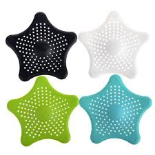 buy 20pcs lot starfish bathroom shower drain cover hair filter