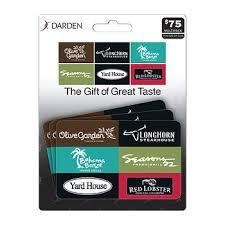 darden restaurants gift cards 25 darden gift card 3 pk bj s wholesale club