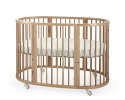 Oval Crib Mattress Stokke Sleepi Bed The Baby Crib That Grows With Your Child