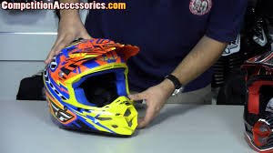 motocross helmet reviews fly f2 carbon helmet review at competition accessories youtube