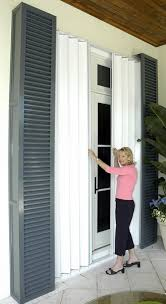 Storm Awnings Pocket Accordion Hurricane Shutters Diy Home Security