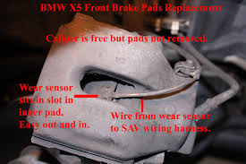 bmw pad bmw x5 how to install front brake pads