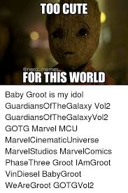 Nerd Memes - too cute a nerd memes for this world baby groot is my idol