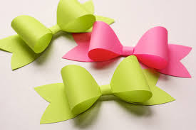 paper ribbon how to make a paper bow how about orange