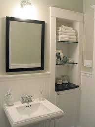 Recessed Shelves In Bathroom Recessed Bathroom Shelving Bathroom Designs