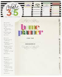 Basic Household Items Checklist Amazon Com Me U0026 My Big Ideas Create 365 The Happy Planner Home