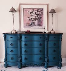 Mixing White And Black Bedroom Furniture Annie Sloan Custom Color Called Peacock Finished In 2 Coats As