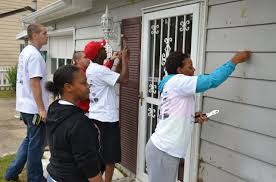 Exterior Home Repair - 688th rpoe soldiers improving humanity and homes in hampton roads