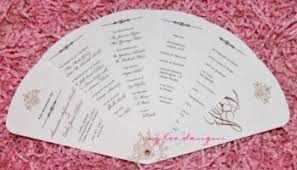 diy fan wedding programs kits diy fan program kit template giveaway aylee bits