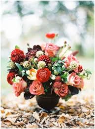 wedding flowers autumn wedding flowers with burgundy details