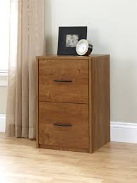 Wood File Cabinets For The Home by Ameriwood Furniture 2 Drawer File Cabinet In Bank Alder Finish