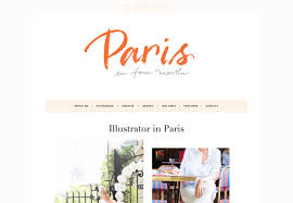 Lifestyle Blog Design Song Of Style Lifestyle Blog Wordpress Theme Designed By Song