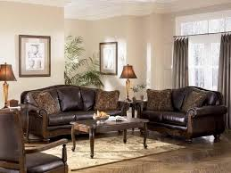 Brown Leather Living Room Decor Living Room Decor Ideas With Brown Furniture Living Room