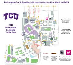 Virginia Tech Campus Map by Gofrogs Com Tcu Horned Frogs Official Athletic Site Gameday